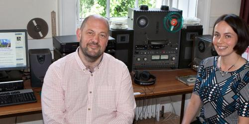 Gary West and Kath Campbell recovered lost Scottish music from the archives.